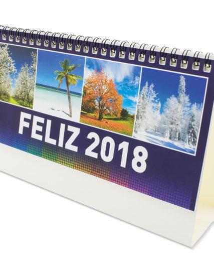 Calendarios cartón sobremesa