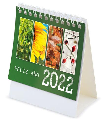 calendario sobremesa 2022 pequeño