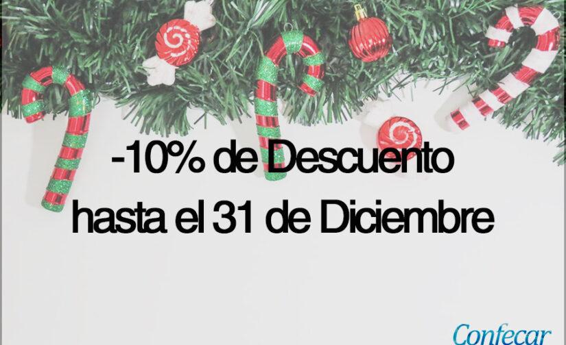 Esta Navidad queremos darte un descuento del 10% de regalo