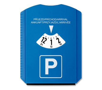Rascador hielo y tarjeta parkimetro