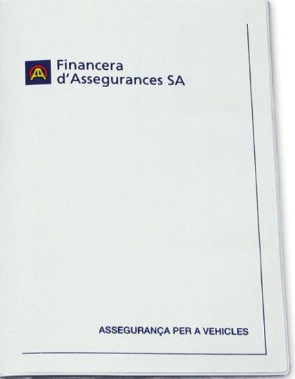 Funda documentación vehículo