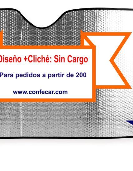 Parasol automóvil serigrafía oferta