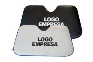 portada parasol personalizado para coche a una cara o a dos