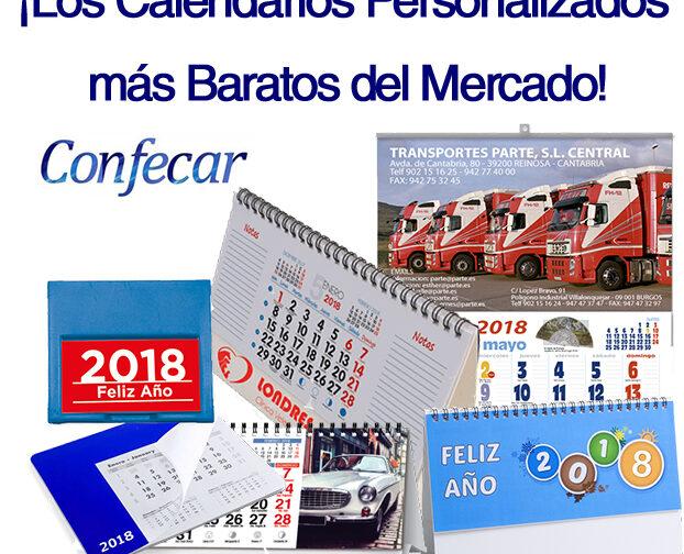 Los Calendarios Personalizados más Baratos del Mercado