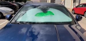 parasol para publicidad, parasol coche, parasol para coche, parasol promocional, regalo de empresa, accesorios automóvil